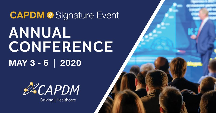 2020 CAPDM ANNUAL CONFERENCE: A WORKING SUMMIT